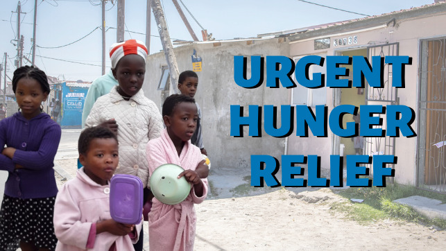 Urgent Hunger Relief: Disaster Aid Food Parcels