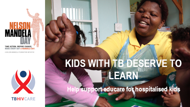 Bring early learning to kids hospitalised with TB