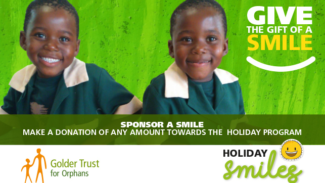 Golder Trust for Orphans Holiday Smiles 2017
