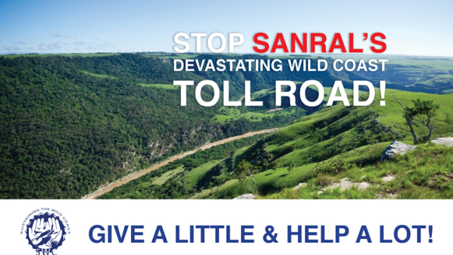 Stop SANRAL's devastating Wild Coast toll road!