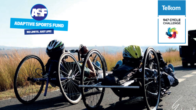 Adaptive Sports Fund Telkom 947 cycle challenge