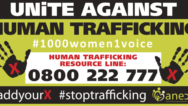 Anex #addyourx #claimbacktheN1 - Stop Human Trafficking