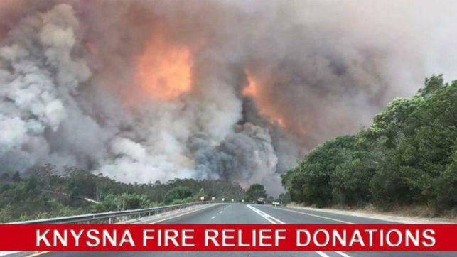 Heavenly Haven Knysna Fire Relief Fund