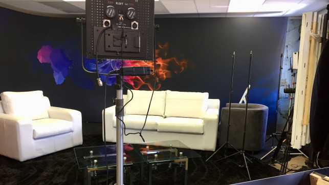 Studio for GOD TV Africa