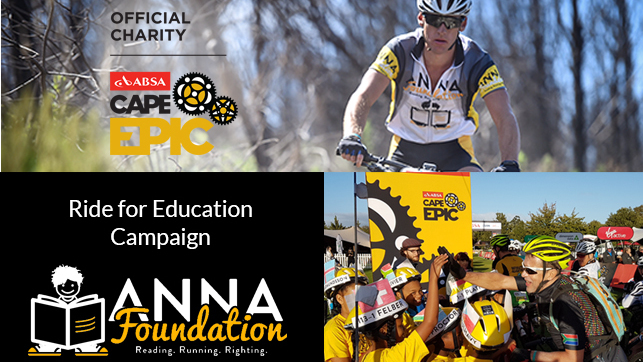 Absa Cape Epic 2018 - Ride for Education - Anna Foundation
