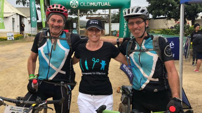 SFLL Pedal for a purpose at 2019 JoBerg2c