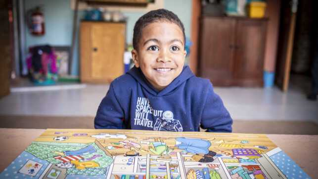 Finding Thabo: Donate R10, Supercharge A Young Brain!