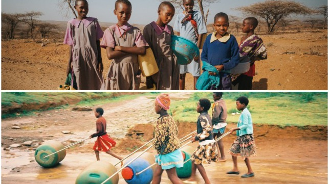 Improving water access in Kenya with the Hippo Roller