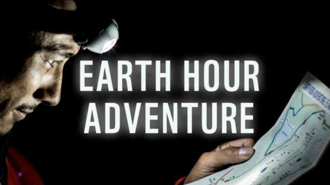 Support Earth Hour Adventure 2019