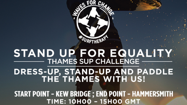 Thames Paddle: Stand Up For Equality