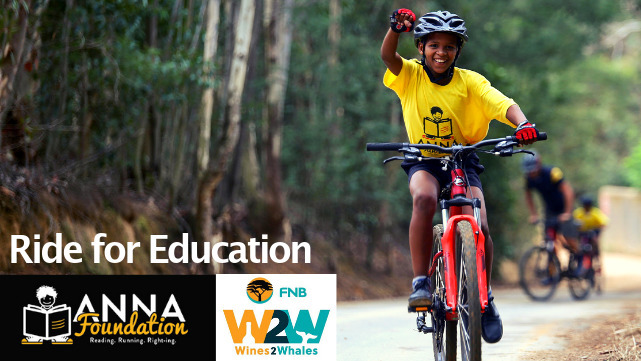 FNB Wines2Whales 2019: Ride for Education (Anna Foundation)