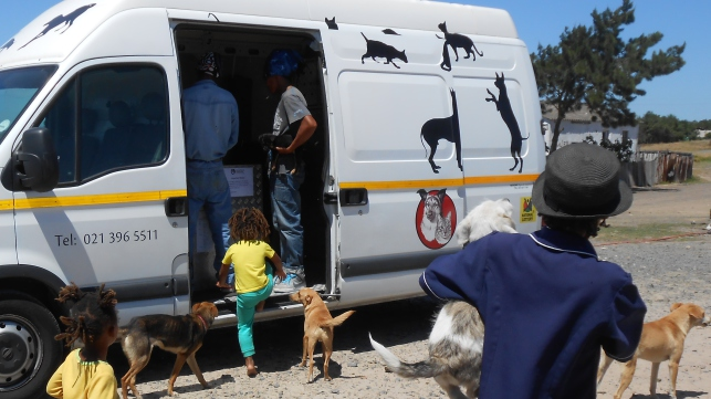 Help African Tails move forward with a Mobile Clinic
