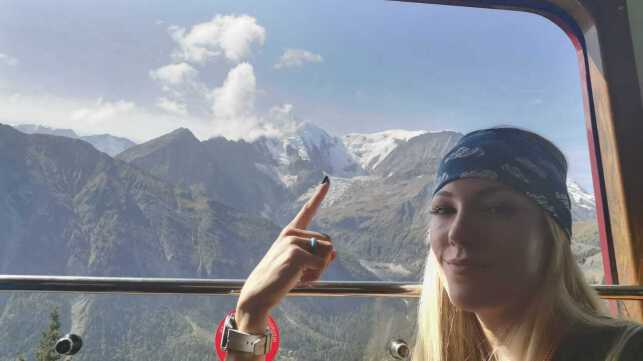 Survivor Star goes to #RareHeights on Mont Blanc