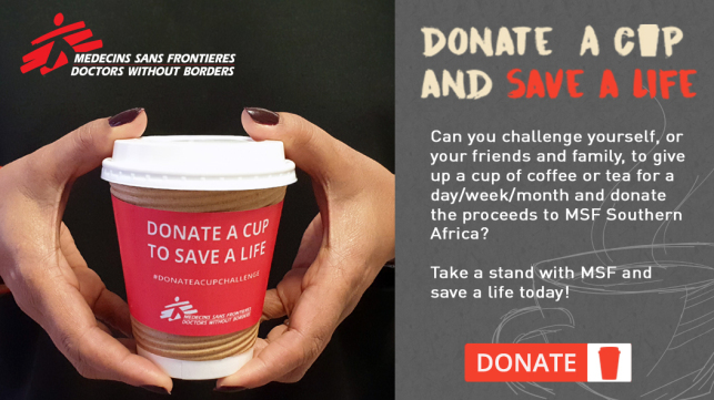 Donate a Cup Challenge - #DonateACupChallenge