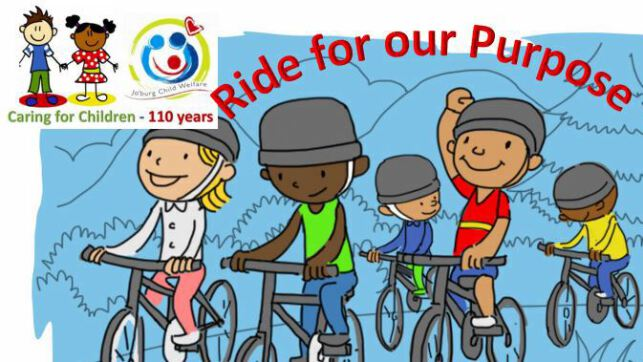 Ride for a Purpose, Ride for Jo'burg Child Welfare