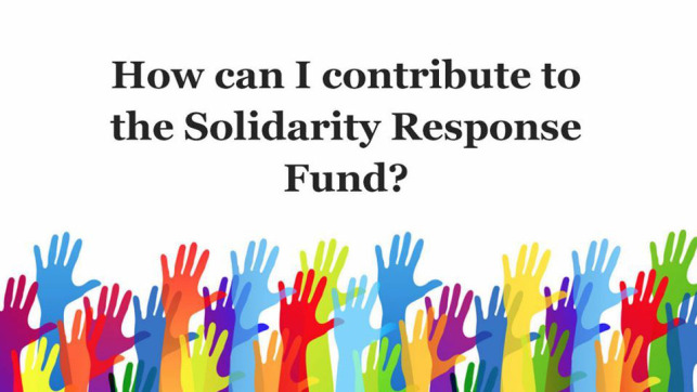 Donate to the Solidarity Fund to fight the COVID-19 pandemic
