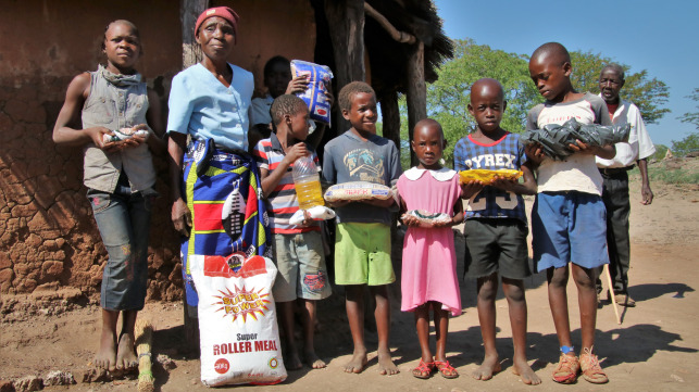 COVID-19 Food & Hygiene Packs for rural Communities