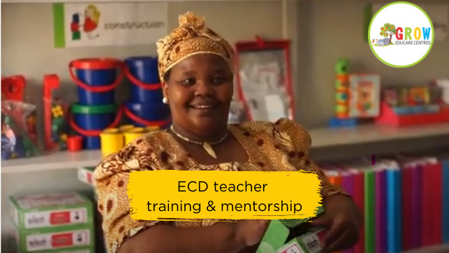 Professional ECD teacher training and mentorship for a year