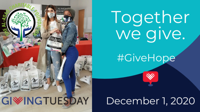 #GivingTuesday GIVE HOPE to impoverished families