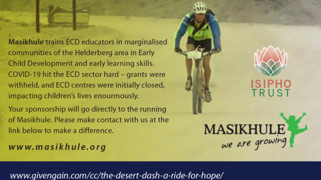 The Desert Dash, a ride for HOPE